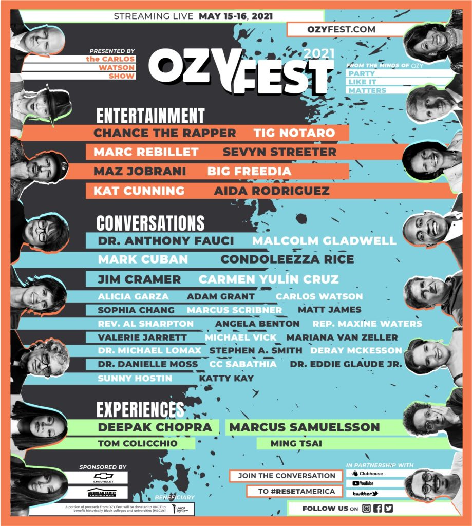 OZY Media Announces Virtual OZY Fest In Partnership With HBCUs, Clubhouse