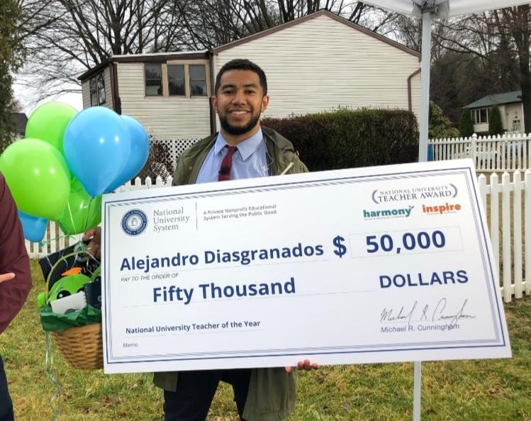Alejandro Diasgranados DC Teacher