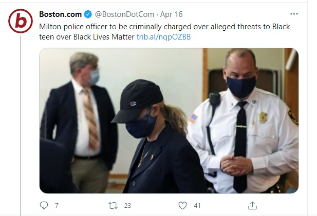 Officer Faces Charges Over Racist Rant and Alleged Threats Made to Black Teen Over Black Lives Matter