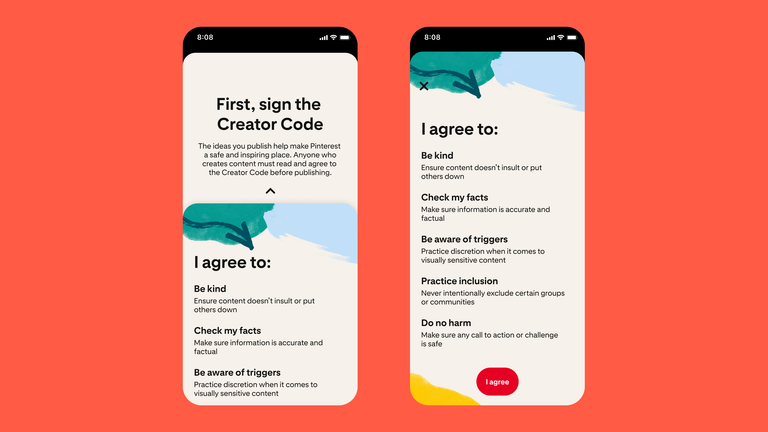 Pinterest-Creator-Code-UI
