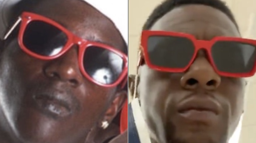 Boosie Badazz Mistaken For Public Enemy's Flavor Flav At Airport And He Was Not Happy