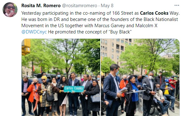 NYC Street Renamed in Honor of Carlos Cooks, Often Forgotten Black Nationalist Who Coined 'Buy Black'