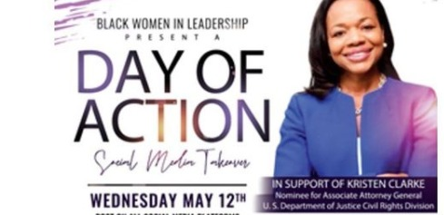Black Women Leaders Promoted a Day of Action to Support Department of Justice Nominee Kristen Clarke