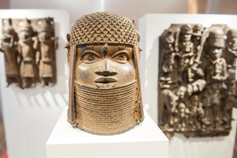 Benin bronze Germany Britain colonizer artifacts