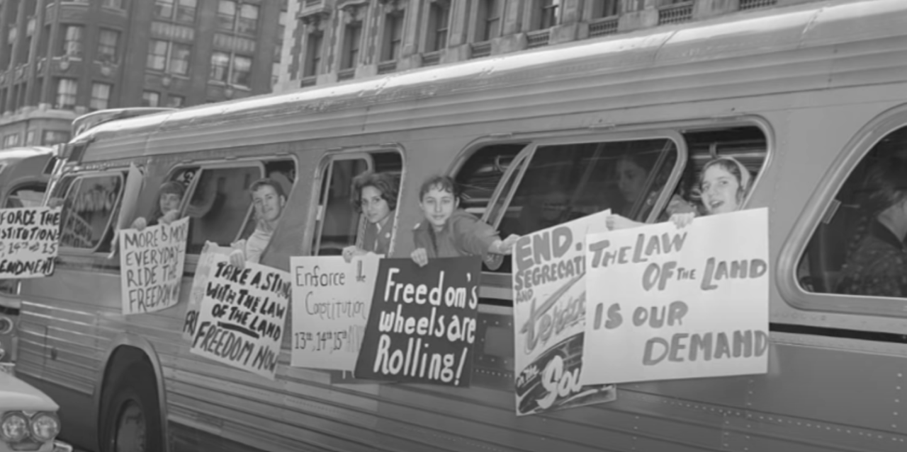 Greyhound Restores Bus for 60th Anniversary of The Freedom Rides