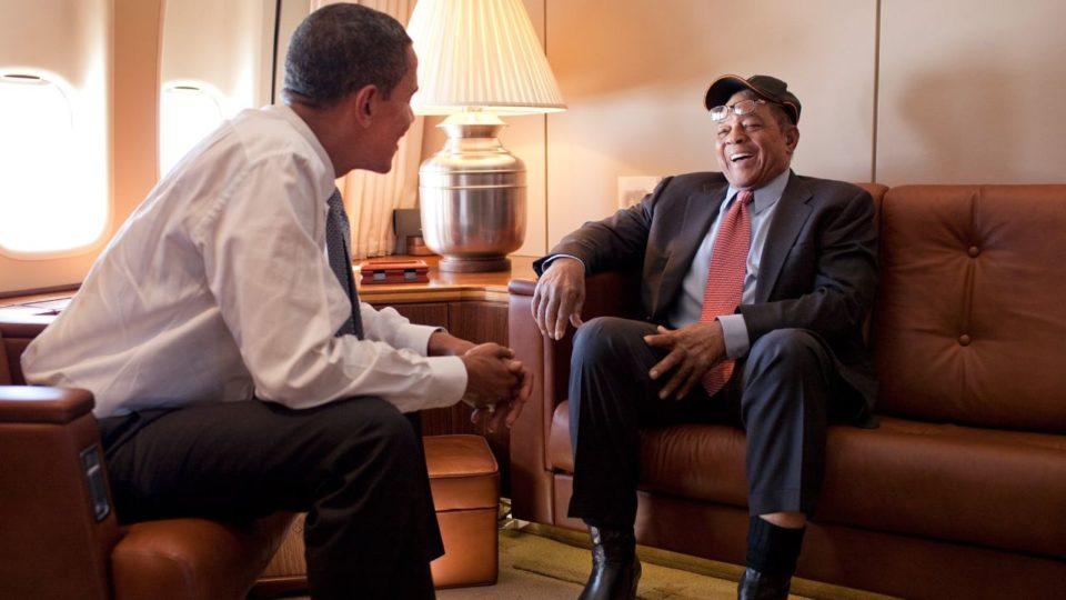 President Obama Wille Mays