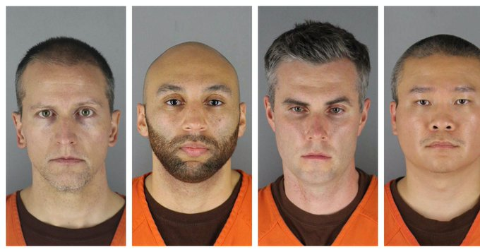 Four Minneapolis police officers