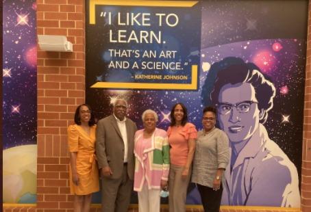 mathematician, Katherine Johnson Middle School, NASA, Virginia