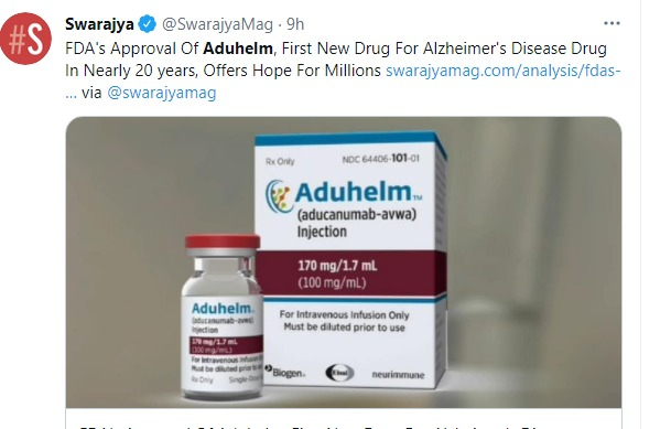 F.D.A. Approves Alzheimer's Drug, Hope is Needed Within the African American Community