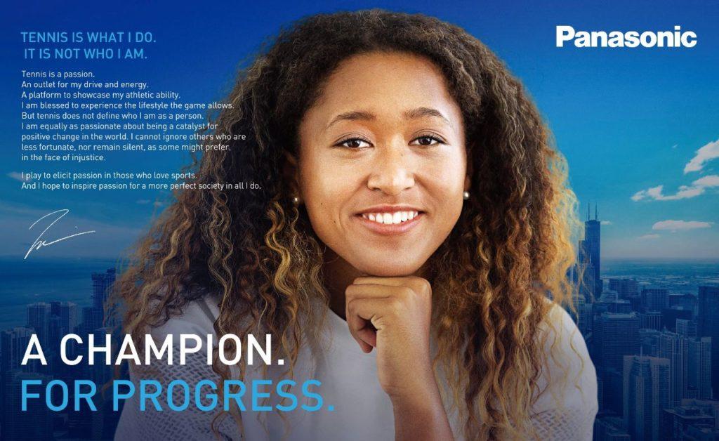 Naomi Osaka Panasonic