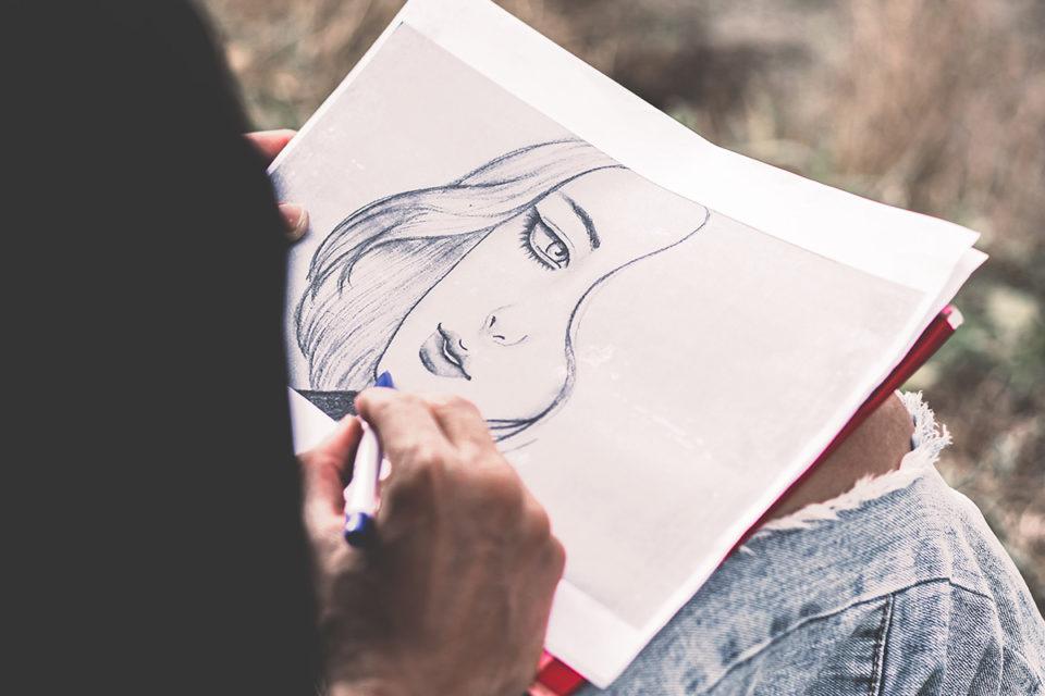Character Art Drawing