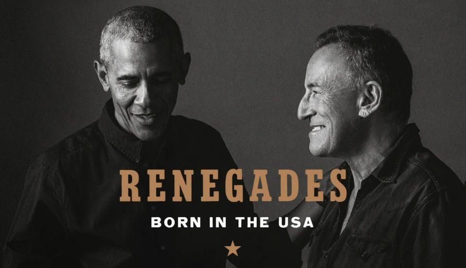 President Obama Bruce Springsteen