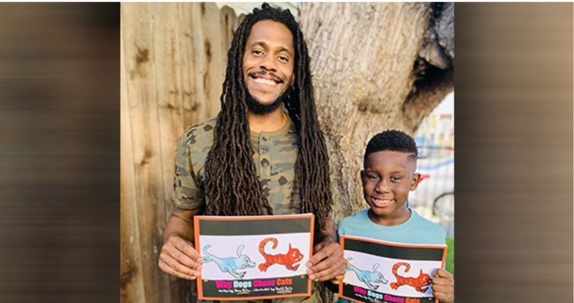 A Black Father Pens a Book and His 7-Year Old Son Is The Illustrator