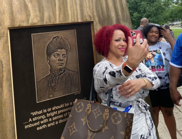 Ida B Wells Monument