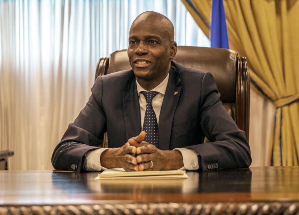 Jovenel Moïse, Haiti, Colombian, government, assassination, suspects