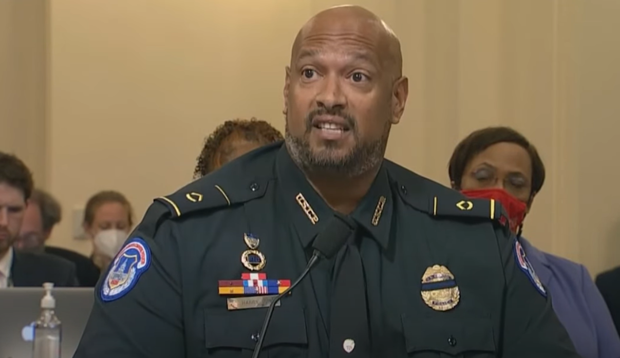 In Emotional Testimony, Black Capitol Police Officer Says Jan. 6 Rioters Used N-word Against Him
