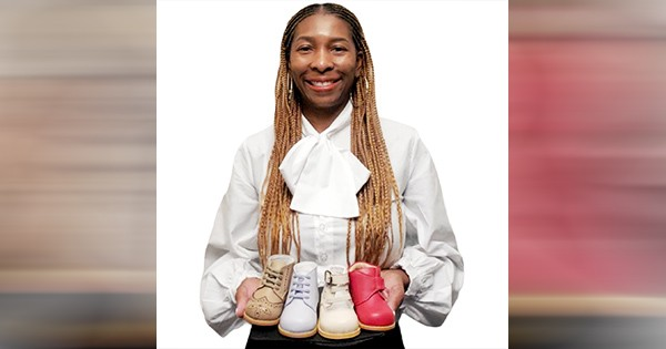 A Black-Owned Baby Shoe Brand Founder Lands a Partnership With Neiman Marcus