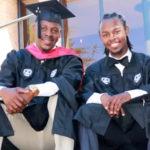 father son graduate college