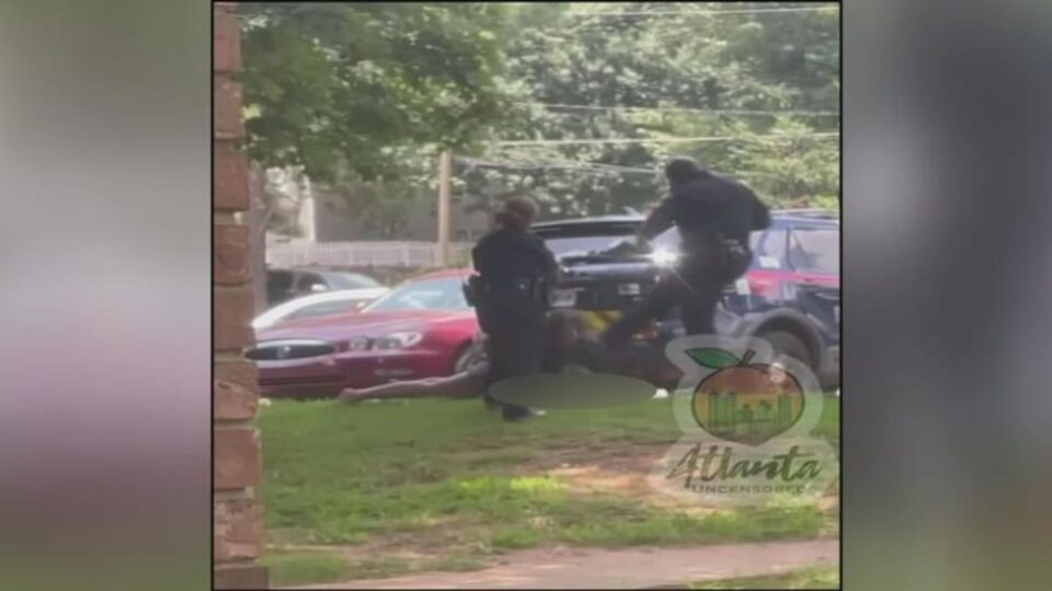 Atlanta police screenshot