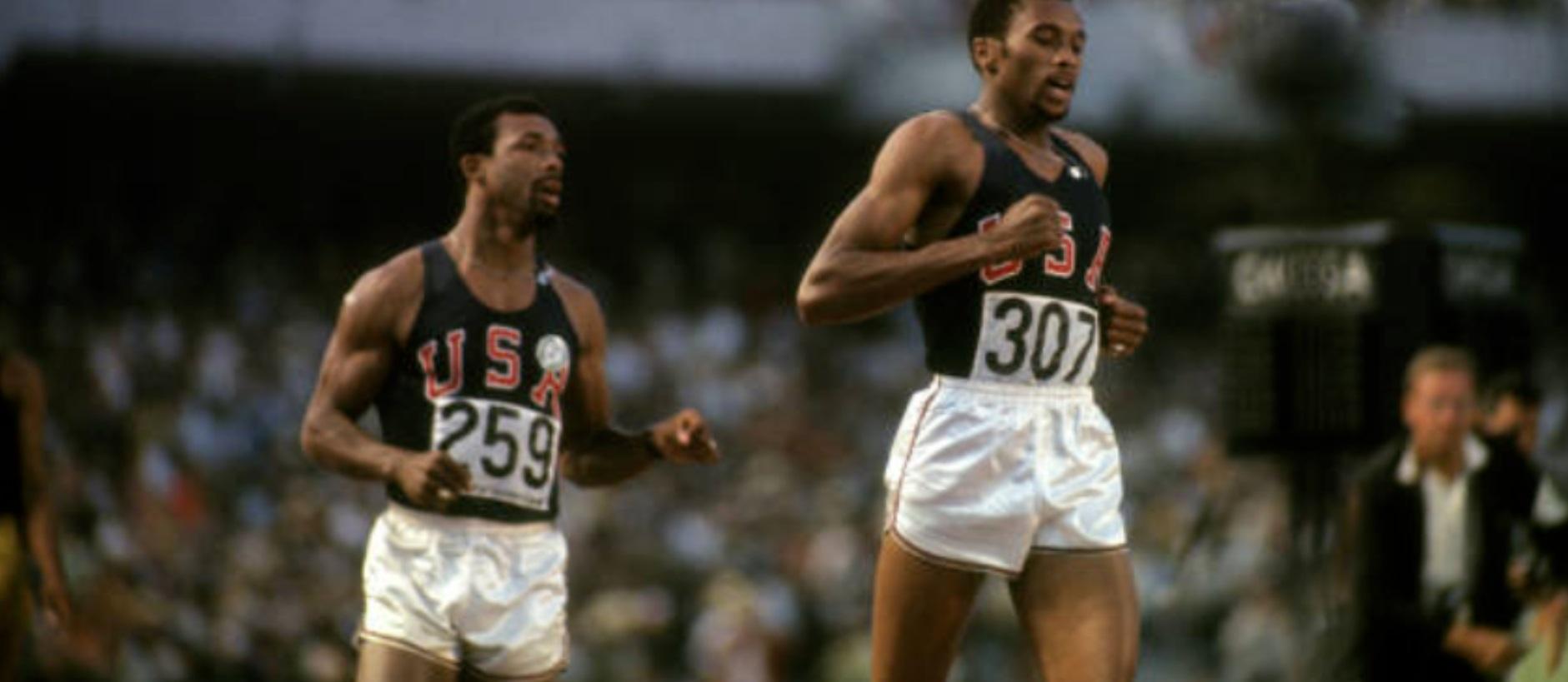 John Carlos and Tommie Smith 1968 Olympics (Photo John Carlos)