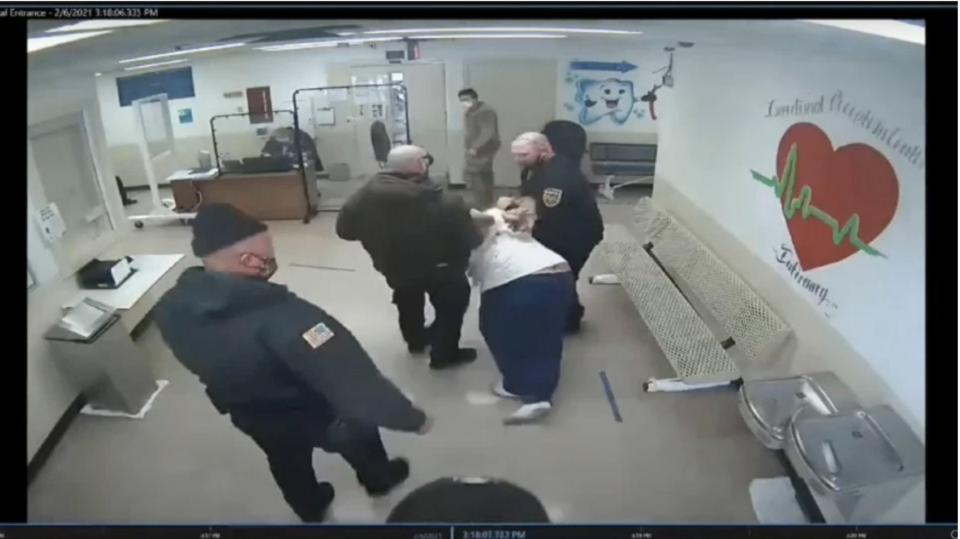 McDaniel, Michael,Ohio, Franklin County, excessive force, prison guards
