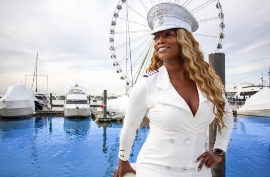 Meet The Black Woman Behind the Unique Paint, Sip and Sail Boating Experience
