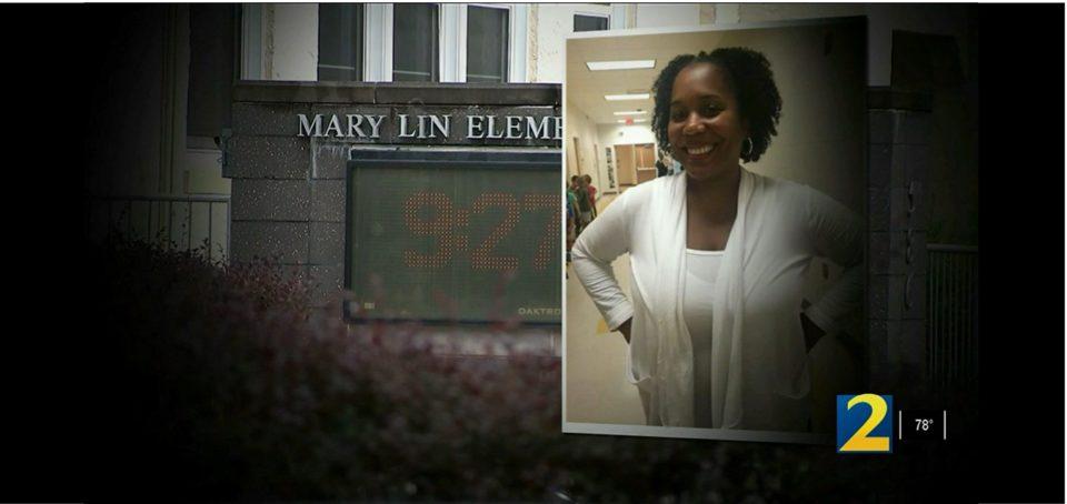 Principal Sharyn Briscoe of Mary Lin Elementary School