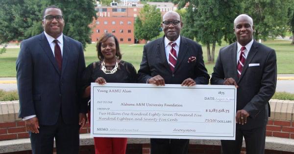 Alabama A&M University $2 Mill Donation