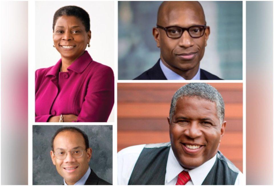 Four members of the Black Economic Alliance
