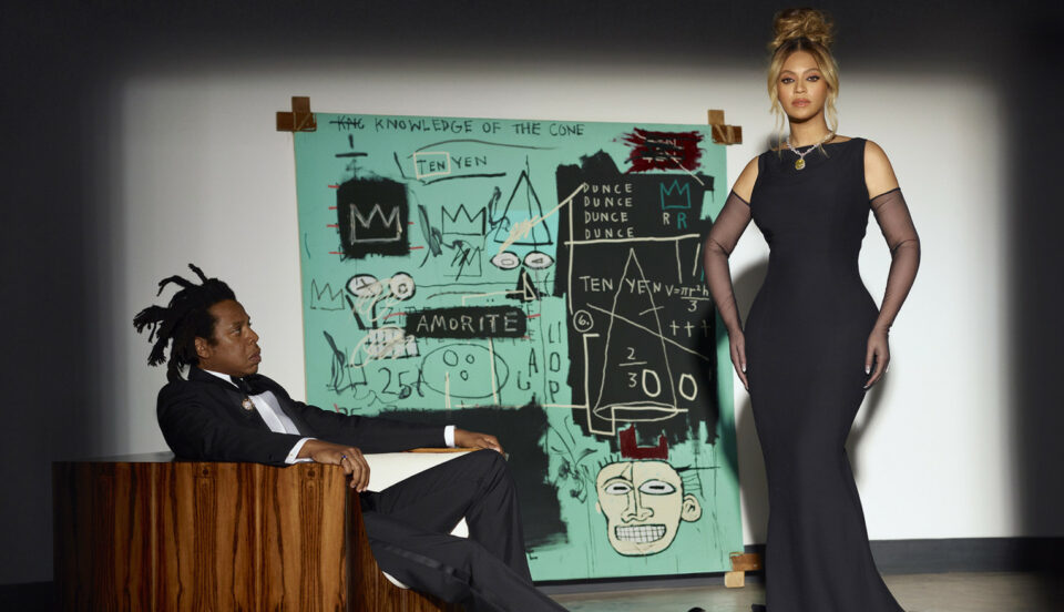 Beyonce and Jay-Z Tiffany & Co.
