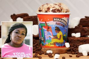 Down For The Cause: Ben & Jerry's Back Rep. Cori Bush With New Social Justice 'Change Is Brewing' Flavor