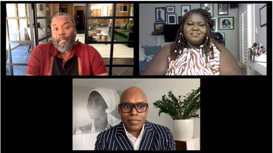 Lee Daniels, Gabourey Sidibe (screenshot)