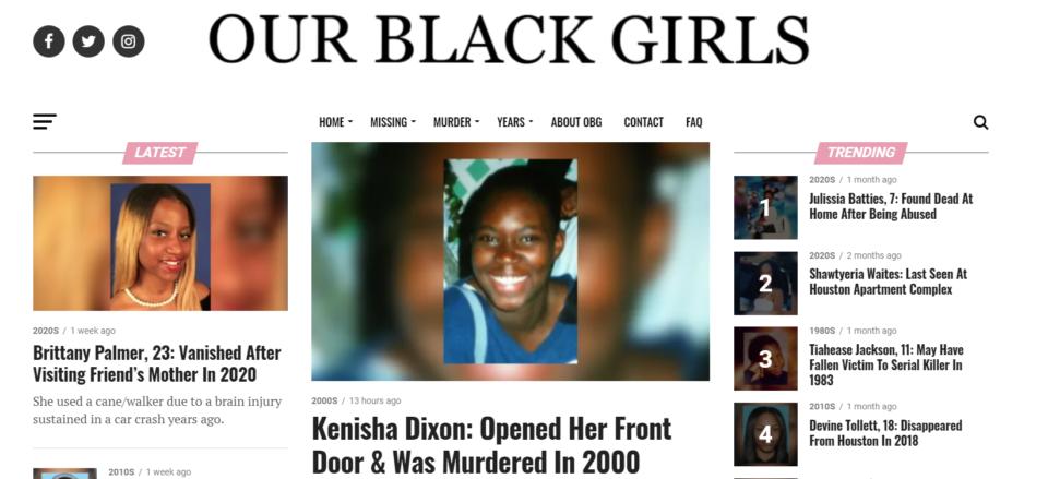Our Black Girls (screenshot)