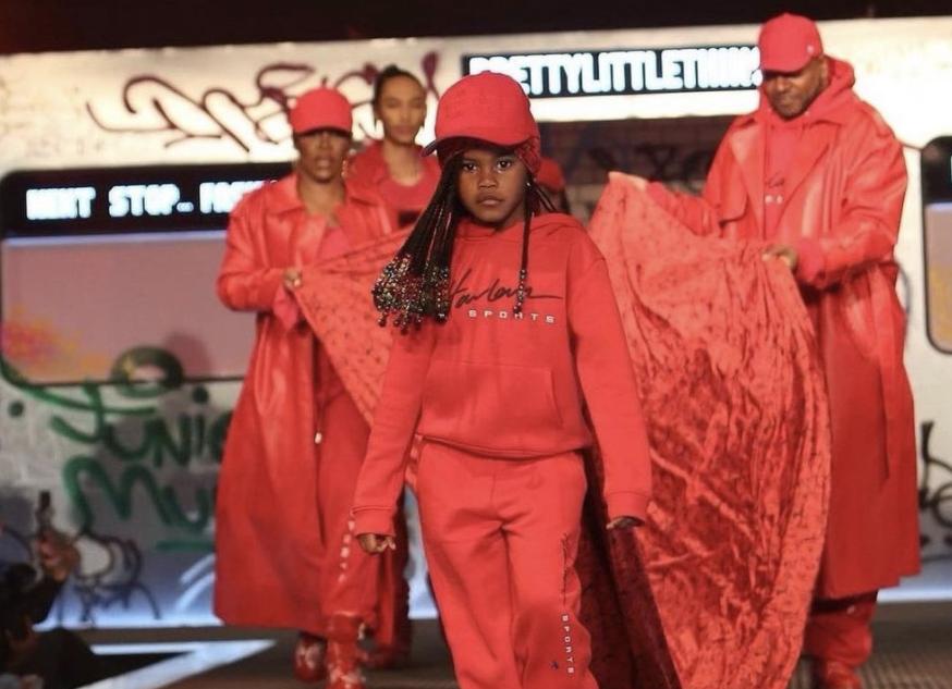 Junie Taylor, Teyana, Pretty Little Thing,New York Fashion Week