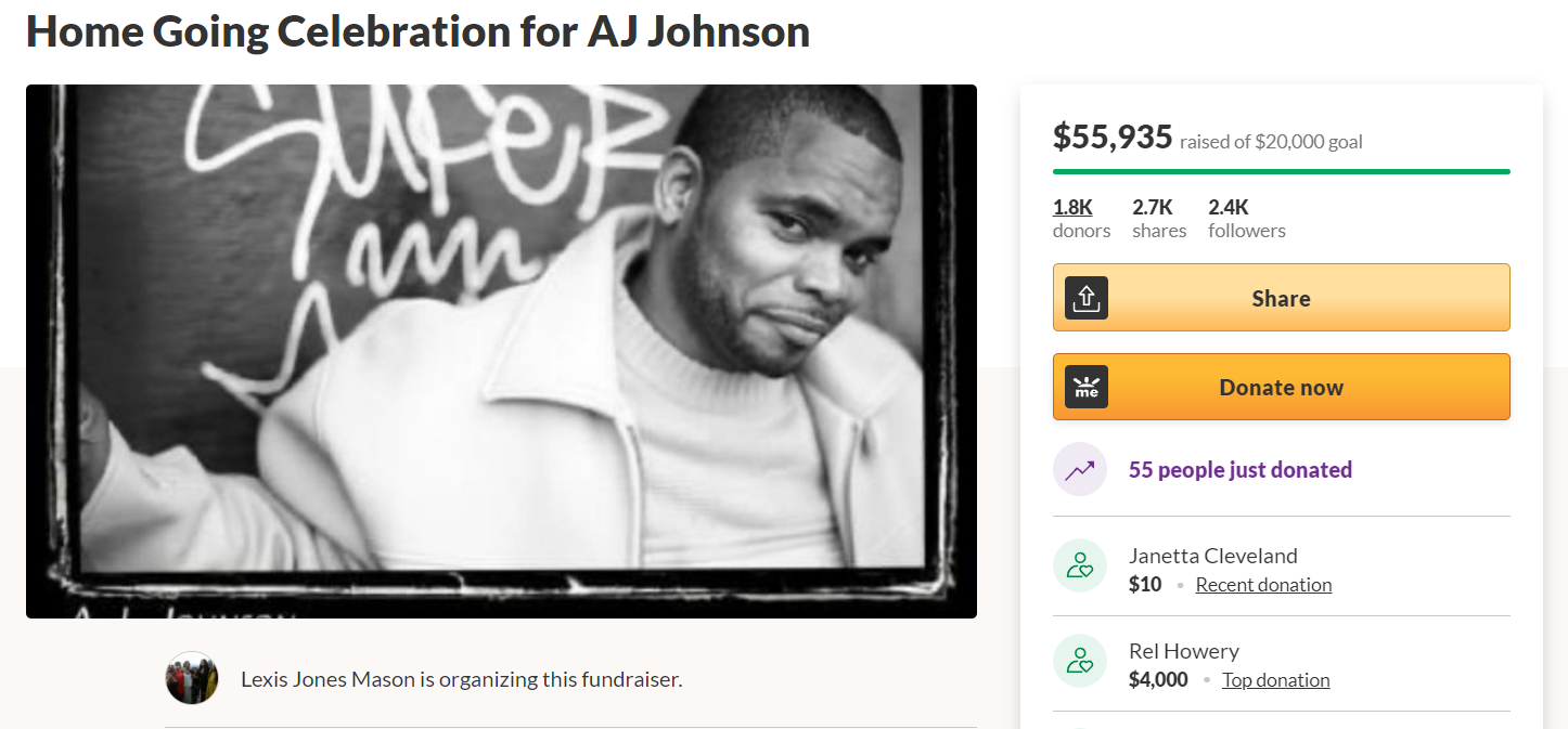 Popular Comedian's Death Makes A Strong Case For Why Black Americans Should Not Use GoFundMe For Life Insurance