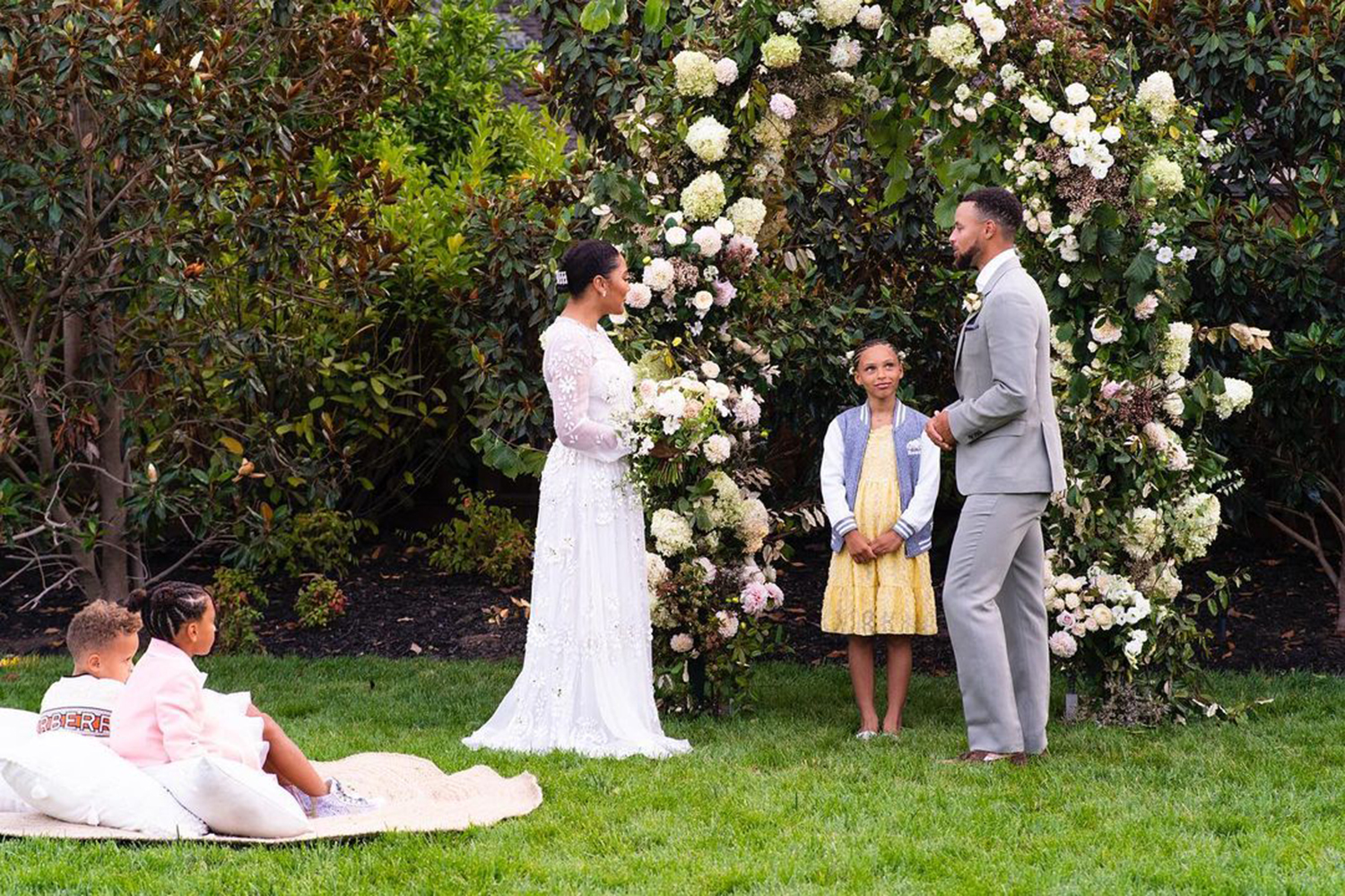 Steph Curry Surprises Wife Ayesha With a Vow Renewal Ceremony For 10th Wedding Anniversary