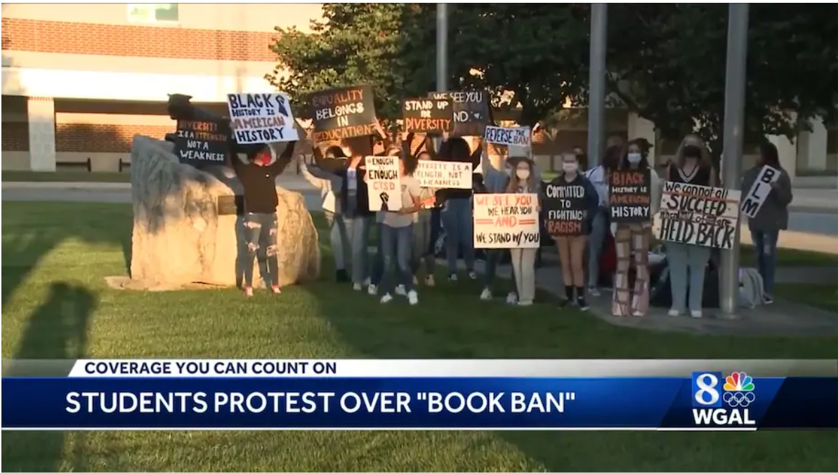 Student Protest Ends Ban On Black Anti-Racism Books In Pennsylvania School District
