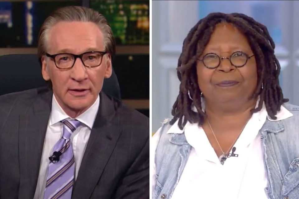 Whoopi and Bill maher (Twitter)