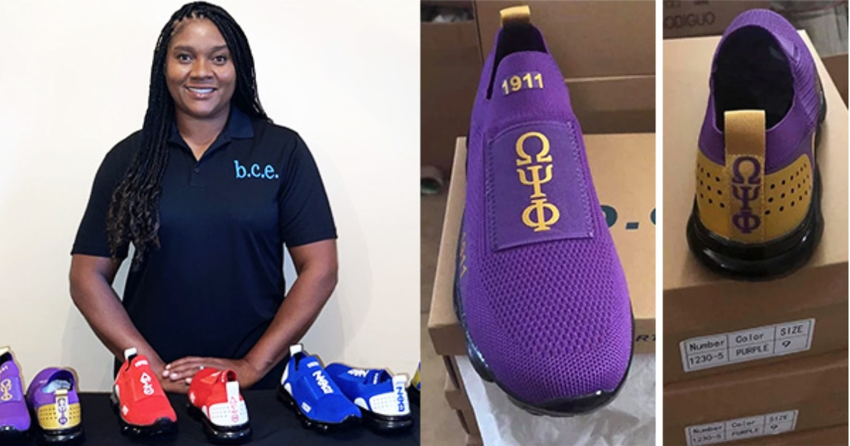 Black Woman Launches Shoe Company That Caters to Sororities and Fraternities In The Divine 9