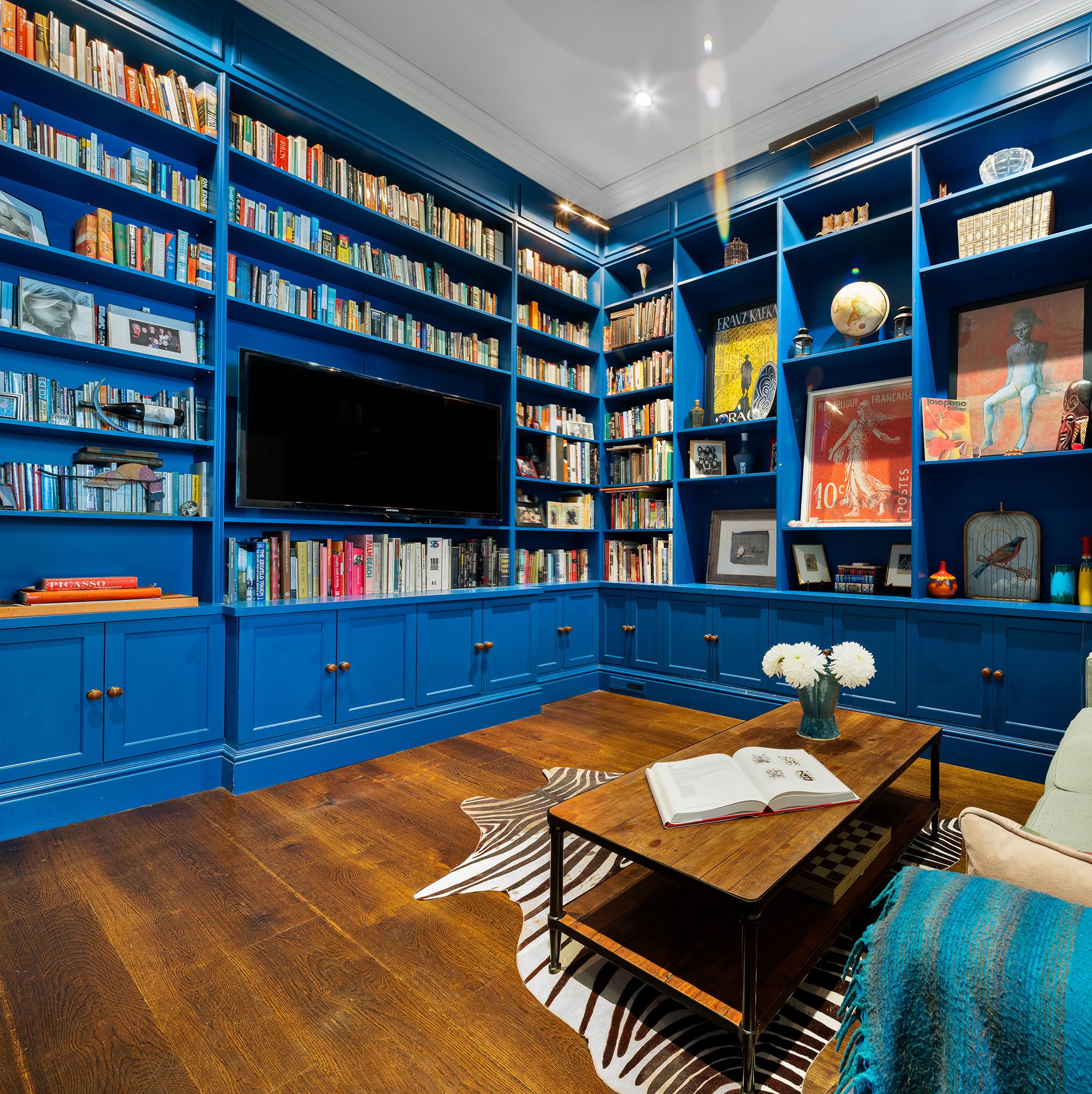 Biggie Smalls' Apartment Library