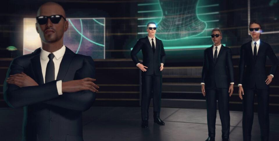 Dreamscape Men In Black