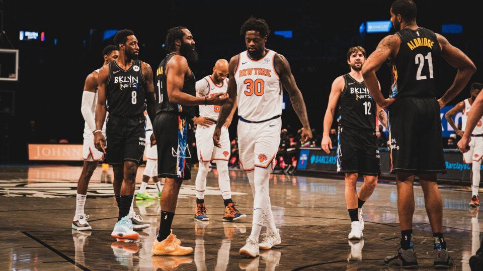 Brooklyn Nets New York Knicks