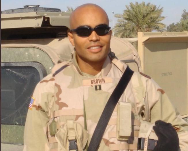 Army Vet Nick Brown