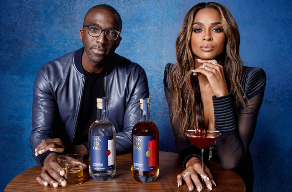 R & B singer Ciara has joined with Trinidad-born founder and CEO Marc Farrell to become a co-owner in award-winning Ten To One Rum