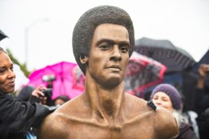 Black Panther Party Unveils Huey P. Newton Tribute To Commemorate Its 55th Anniversary