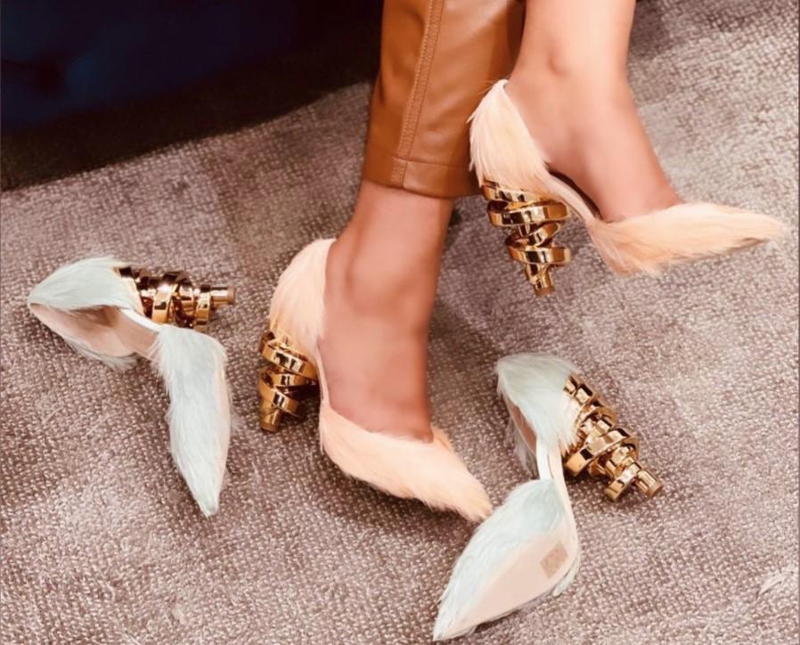 Keeyahri luxury shoes by Keya Martin