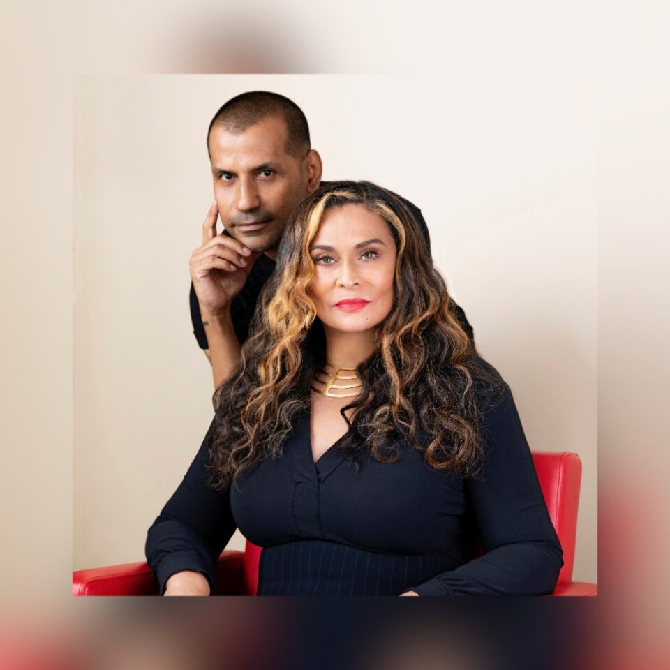 Tina Knowles Lawson and celebrity hairstylist Neal Farinah